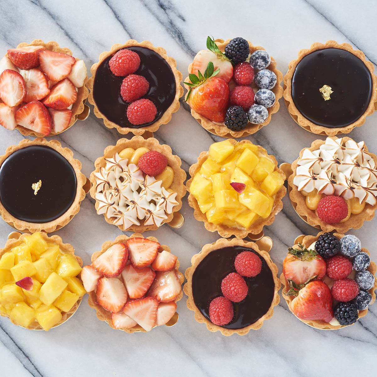 Fruit Tarts - Box of 8