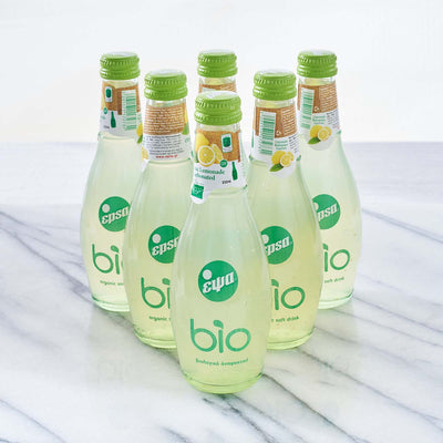 Organic Sparkling Drinks - Lemonade (Bottles of 6)
