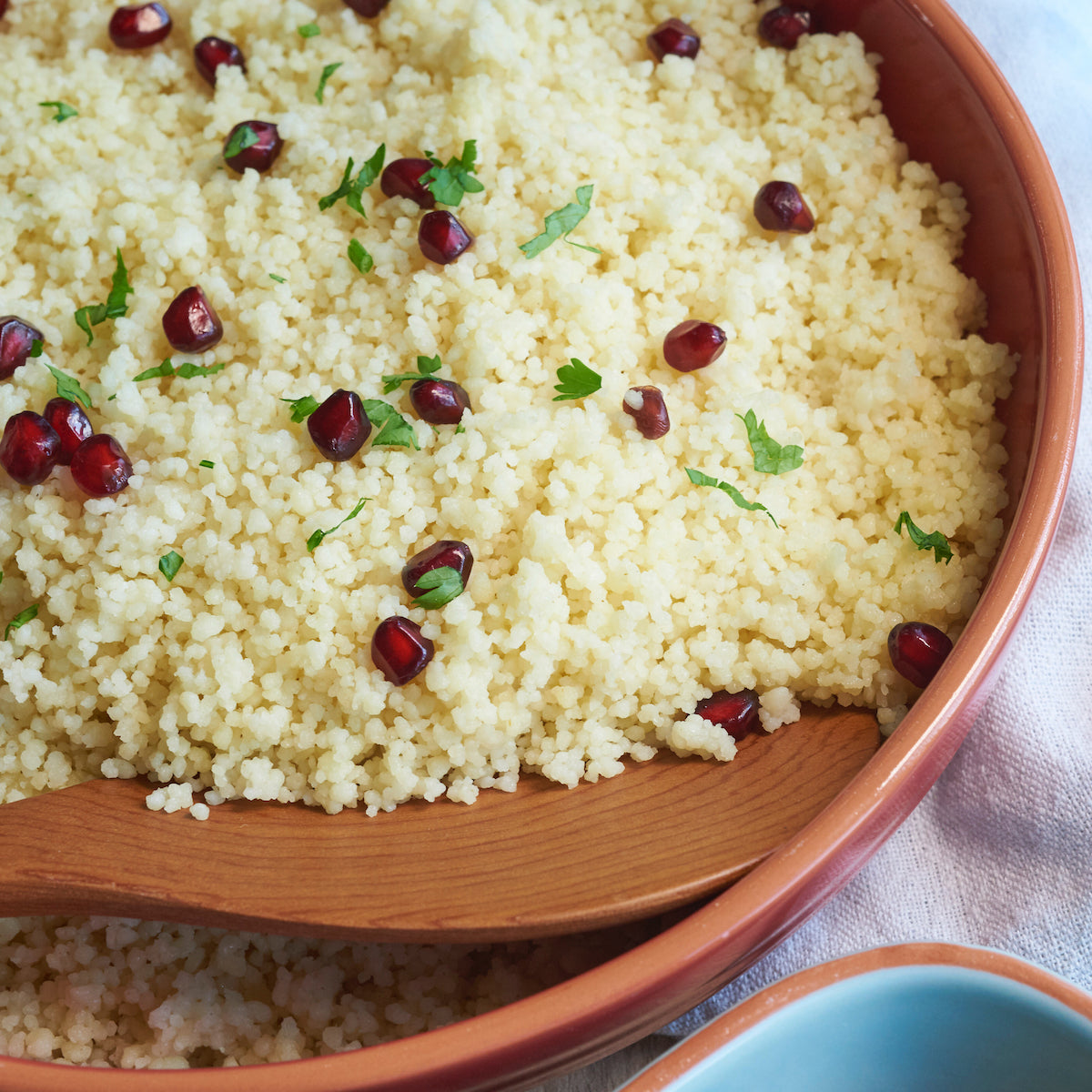 Tray of Buttery Couscous