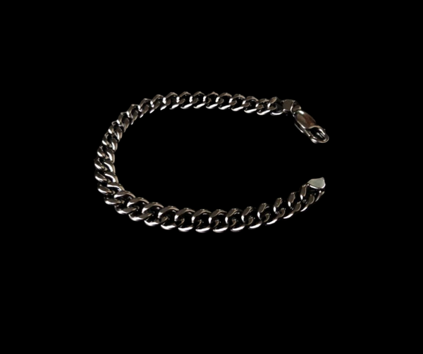 Chain Rhodium - Black