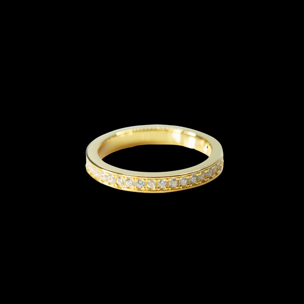 Tennis ring Gold/Swarovski