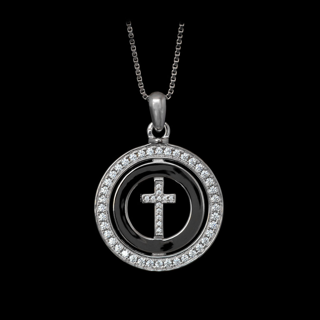 Circle Of Faith Silver / Swarovski