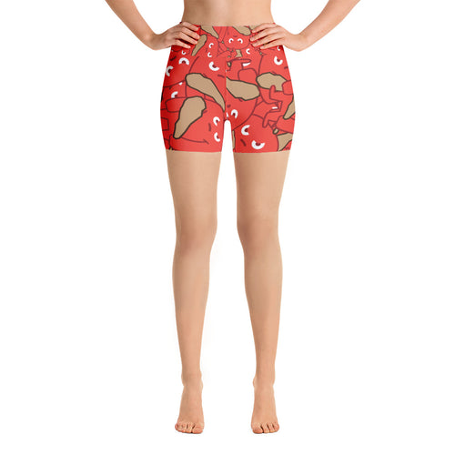 HOTH Bunches Yoga Shorts