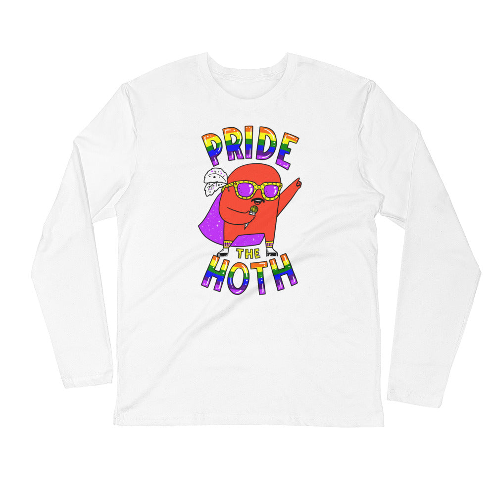 HOTH Pride Long Sleeve Fitted Crew