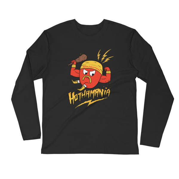 HOTHAMANIA - Long Sleeve Fitted Crew
