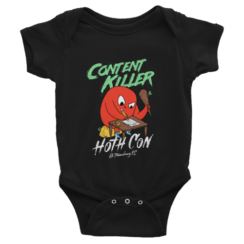 HOTH Content Killer Infant Bodysuit