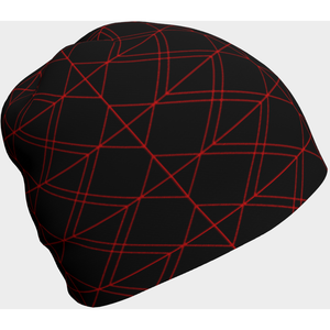 Cyber gamer web geek beanie - summerinstates