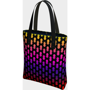 Colorful pineapples tote bag - summerinstates