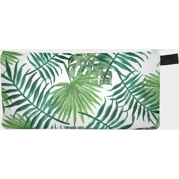 Green leaves Pencil case - summerinstates
