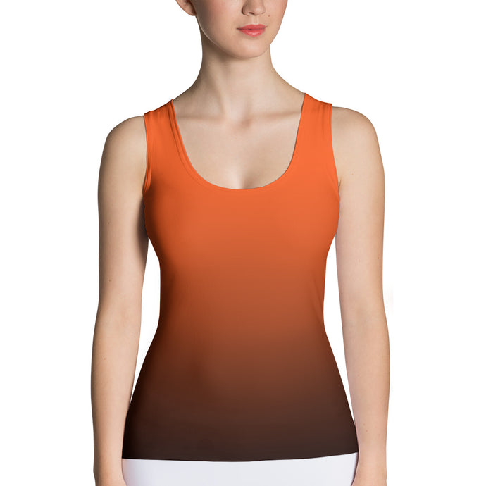 Orange ombre Tank Top - summerinstates