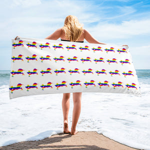 LGBT Rainbow Unicorn Towel - summerinstates
