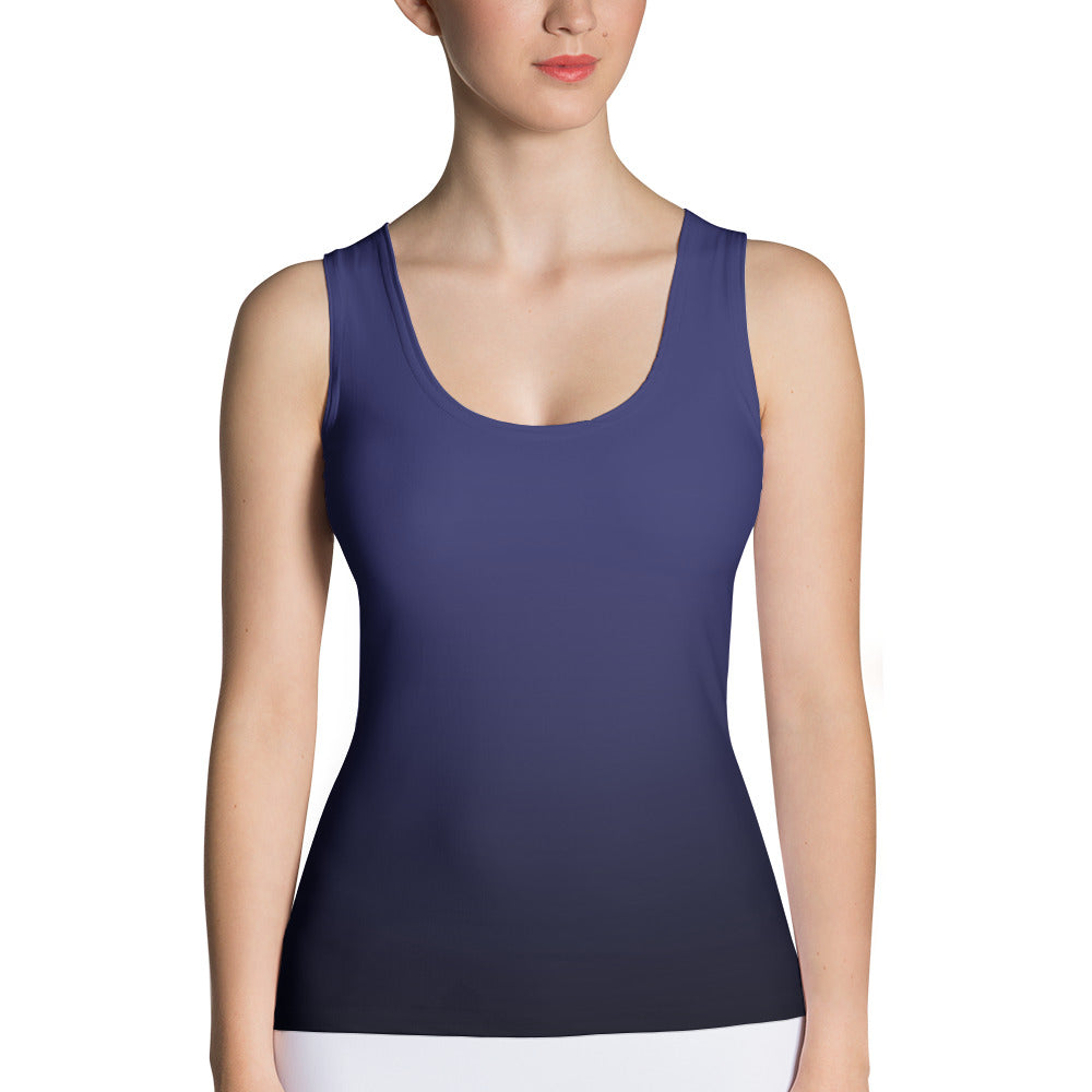 Navy ombre Tank Top - summerinstates