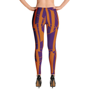 Wired fall robot Leggings - summerinstates