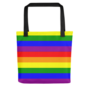 Rainbow flag Pride colors Tote bag - summerinstates