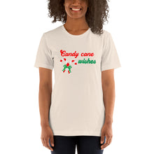 Candy cane wishes Short-Sleeve T-Shirt