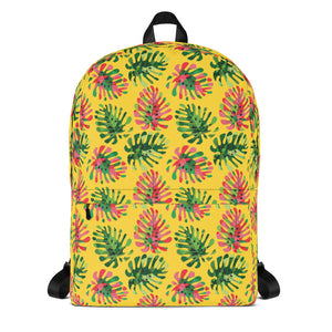 Tropical Summer leaves Backpack - summerinstates