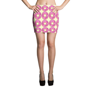 Donuts Mini Skirt - summerinstates