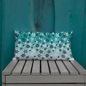 It's snowing Winter Premium Pillow