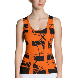 Wired Orange Tank Top - summerinstates