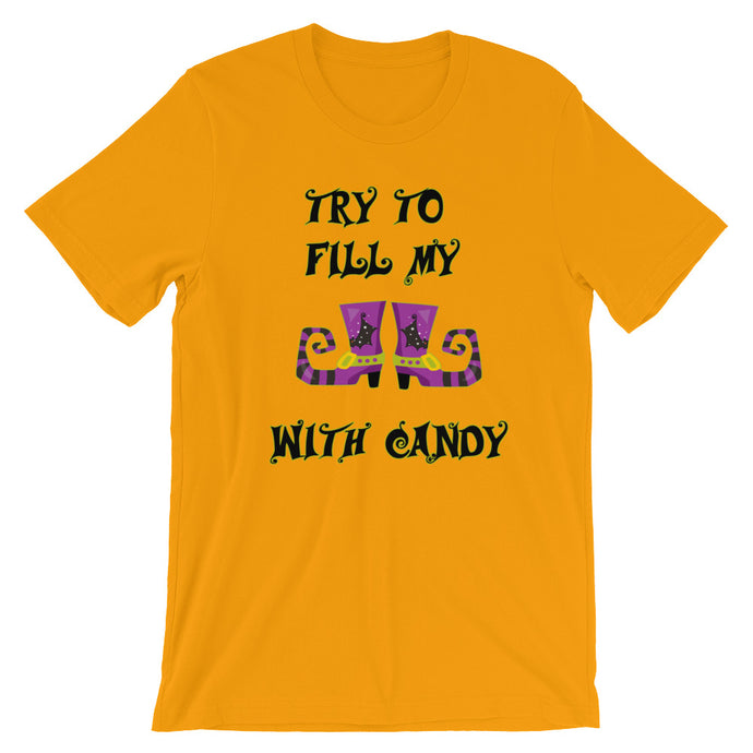 Try to fill my shoes with candy T-Shirt - summerinstates