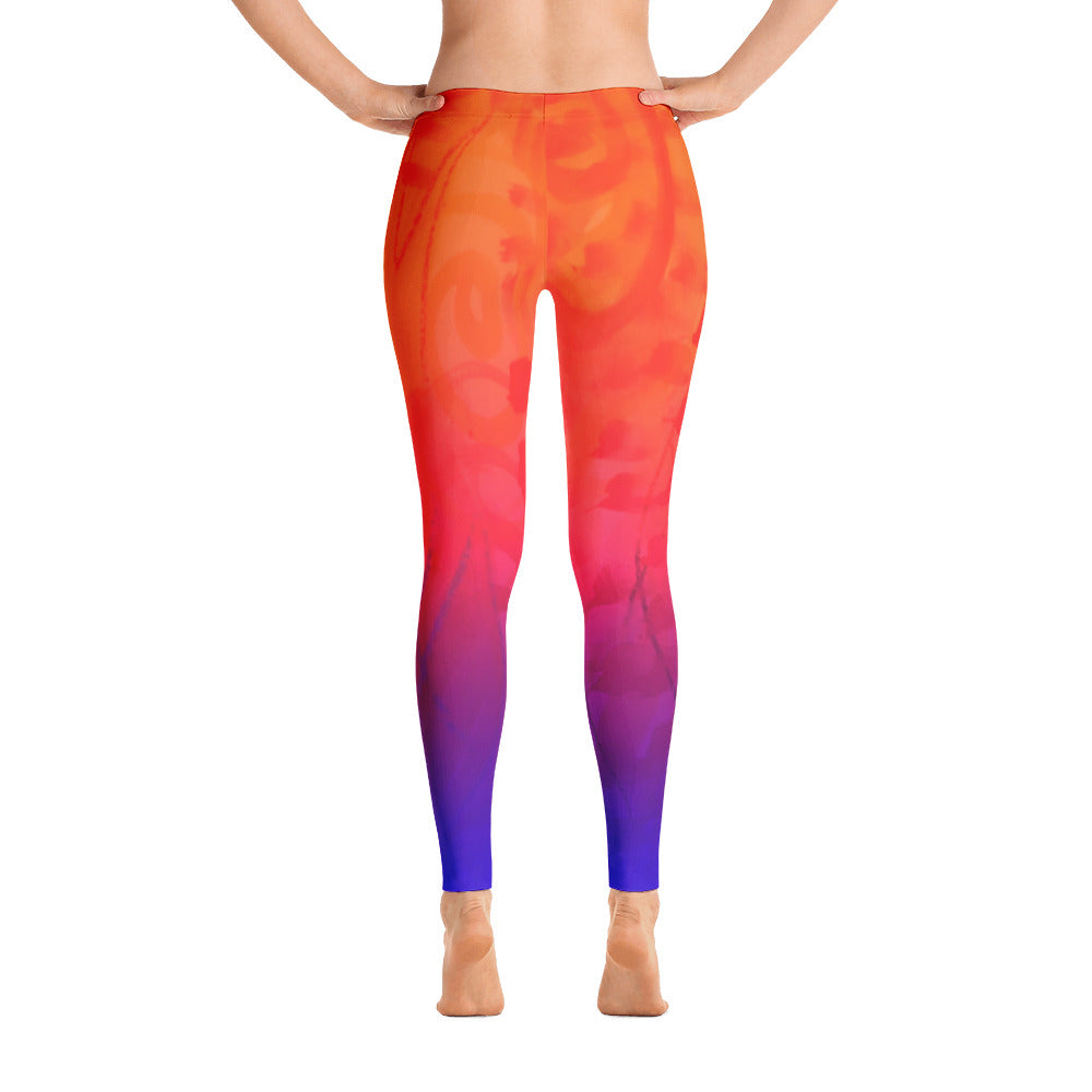 Exotic Summer Paradise Leggings - summerinstates