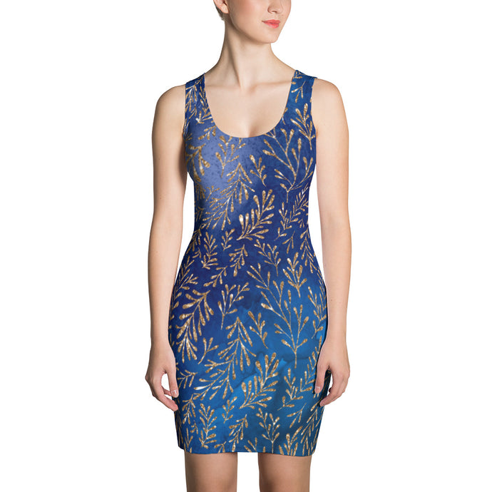 Blue Magic Dress - summerinstates