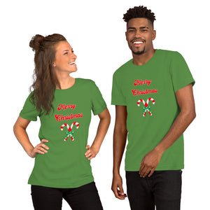 Merry Christmas Candy cane Unisex T-Shirt