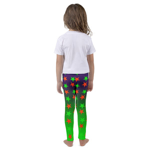 Kid's Green Magical Stars leggings - summerinstates