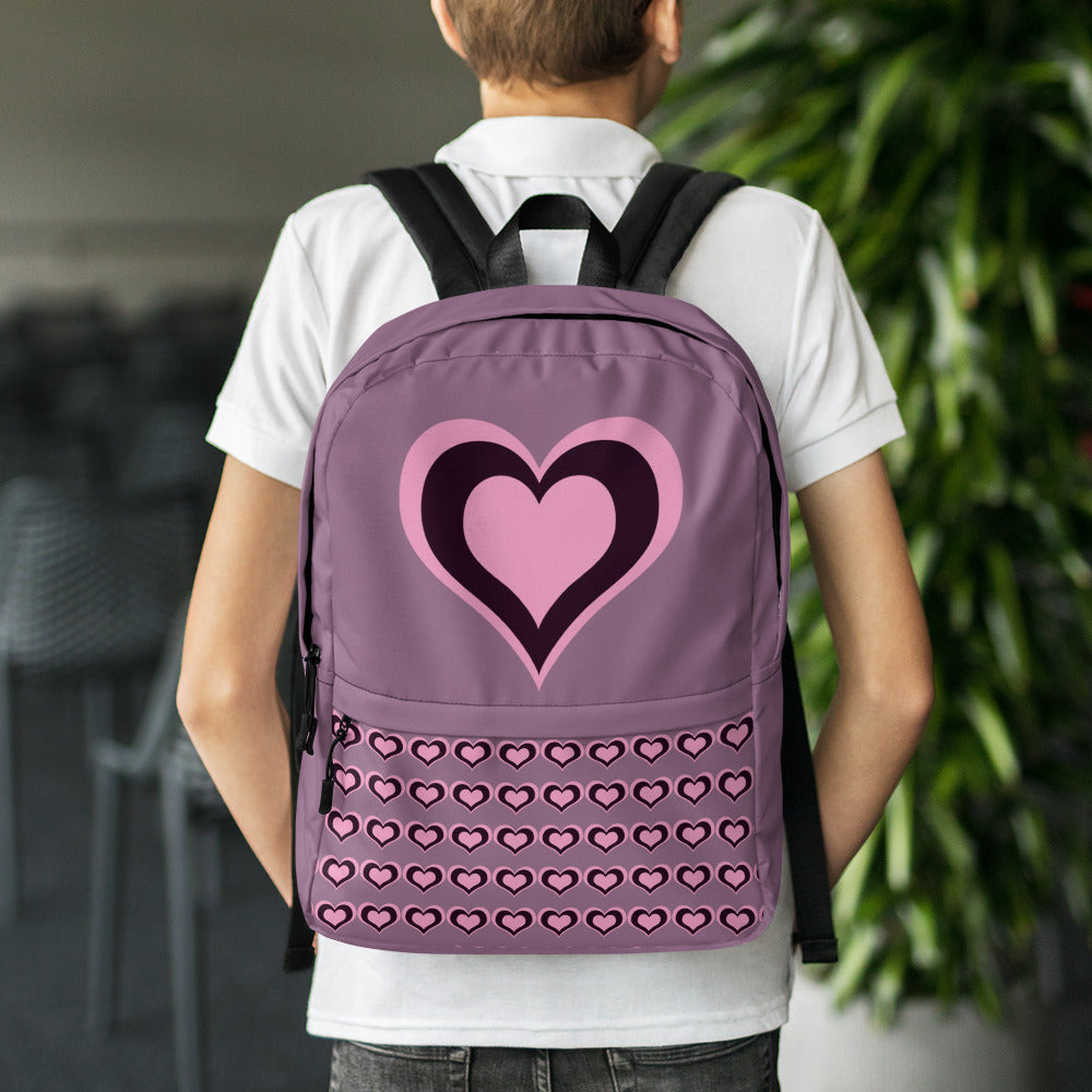 Valentine's day pastel hearts Backpack