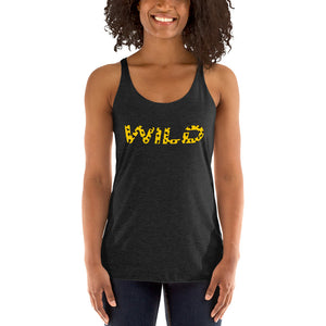 Wild Yellow Racerback Tank - summerinstates