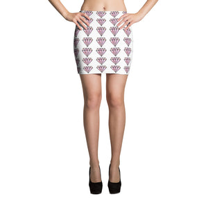 Diamonds Mini Skirt - summerinstates