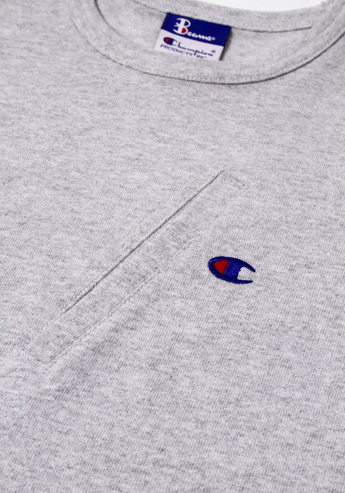 Champion X BEAMS Asymmetric Pocket T-Shirt
