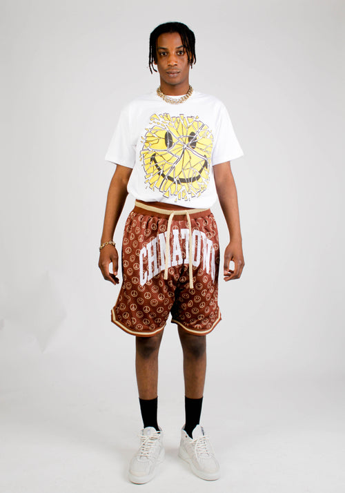Smiley Cabana Basketball Short