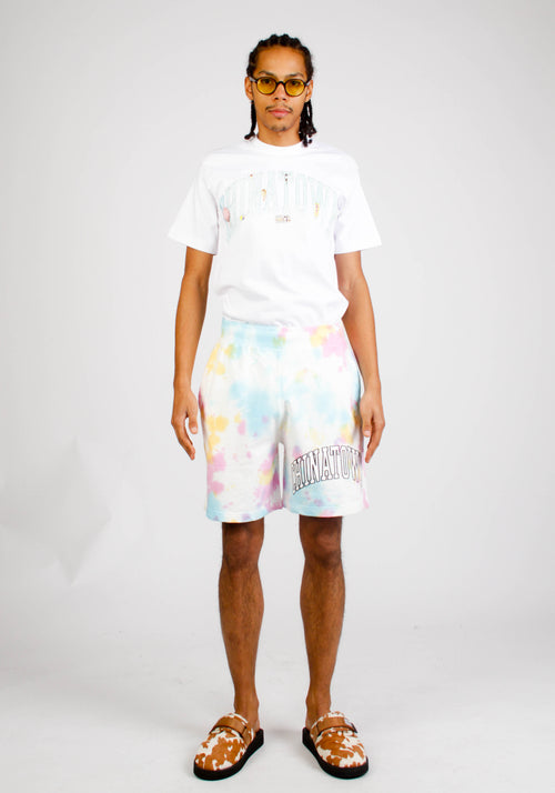 Arc Left Tie Dye Sweatshort