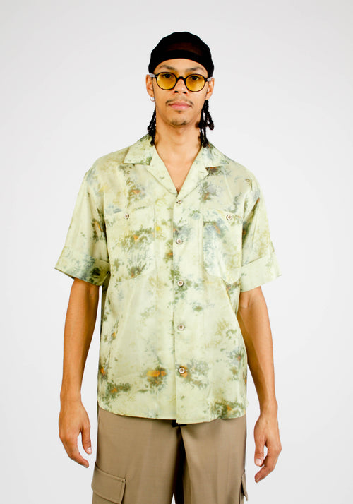 FOREST WHISPER OPEN COLLAR SHIRT