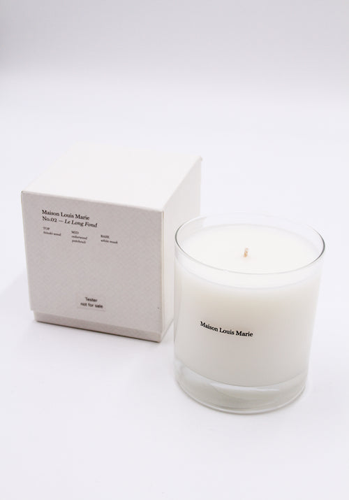 Candle - N.02 LE LONG FOND