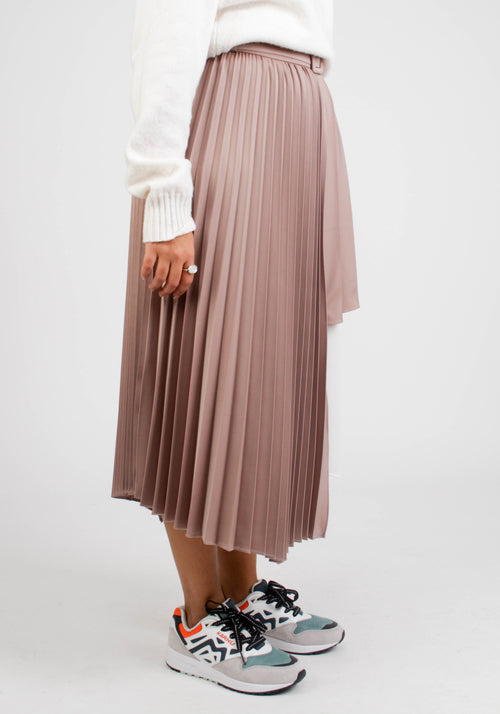 MELANIE DOUBLE LAYERED CUTOUT SKIRT