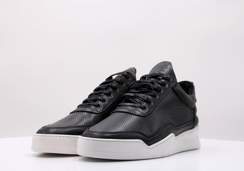 Low Top Ghost Nappa Perforated