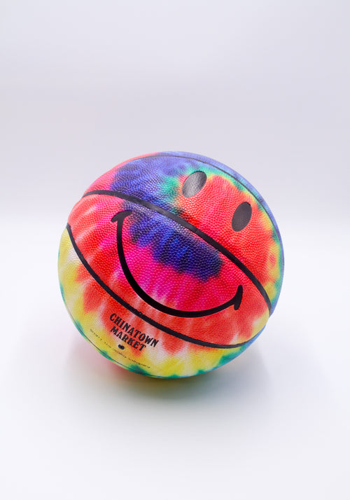 TIE DYE SMILEY BASKETBALL