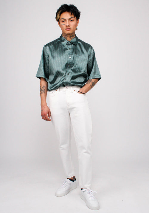 Boxy Satin Shirt