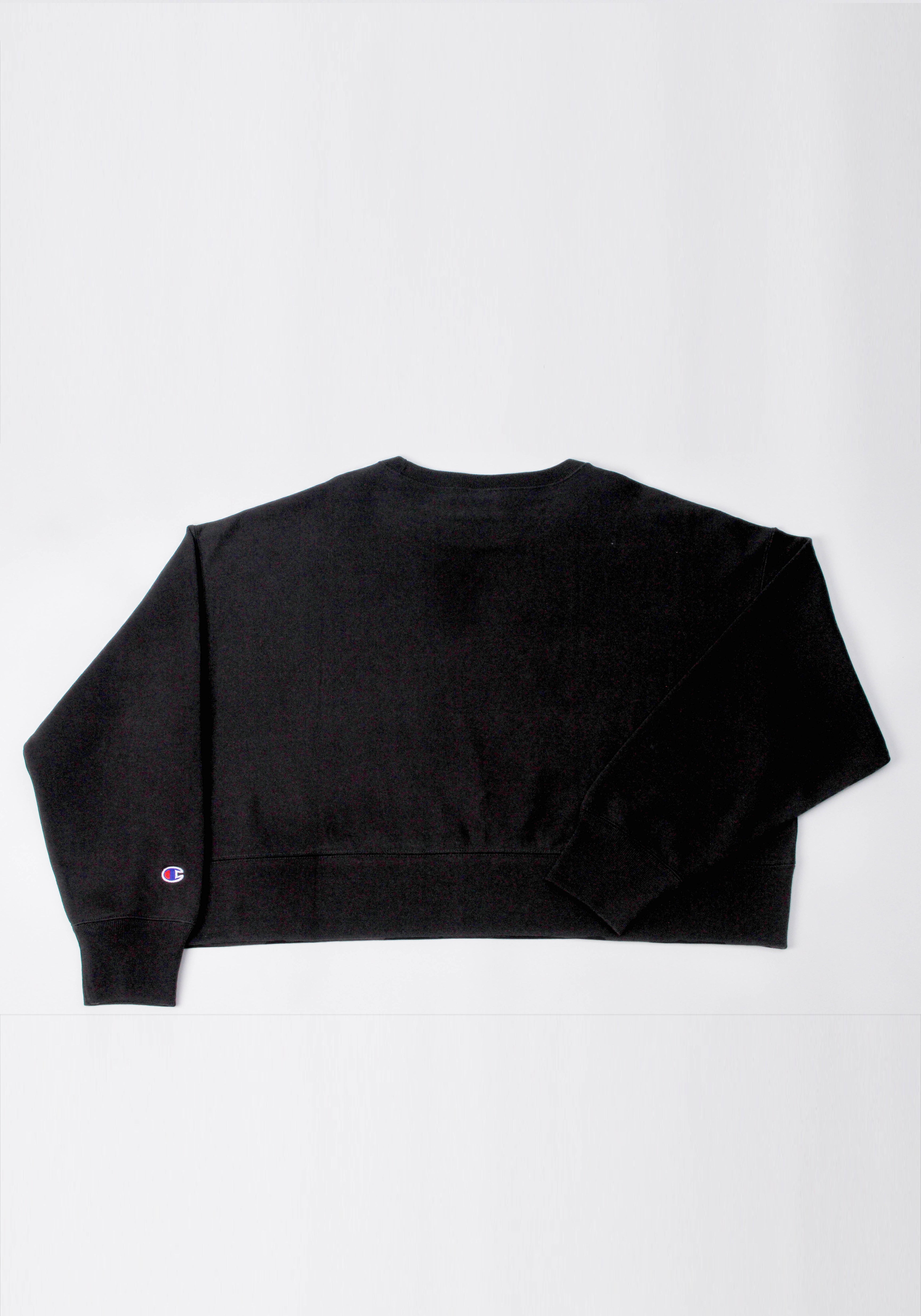 Oversized Recycled Cotton Terry Sweatshirt
