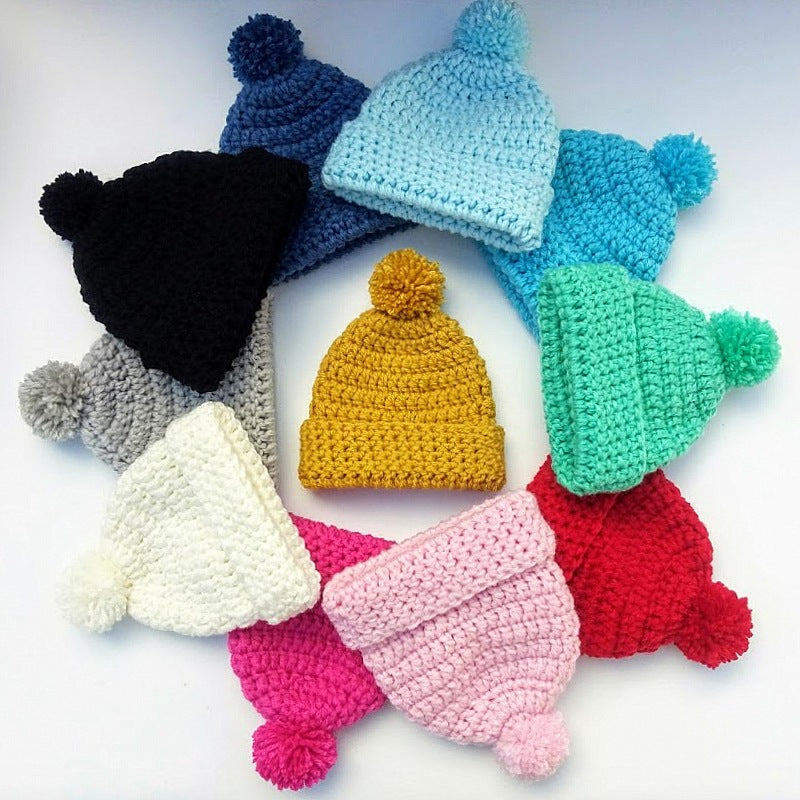 BEANIE BOBBLE POM POM & BEAR HATS