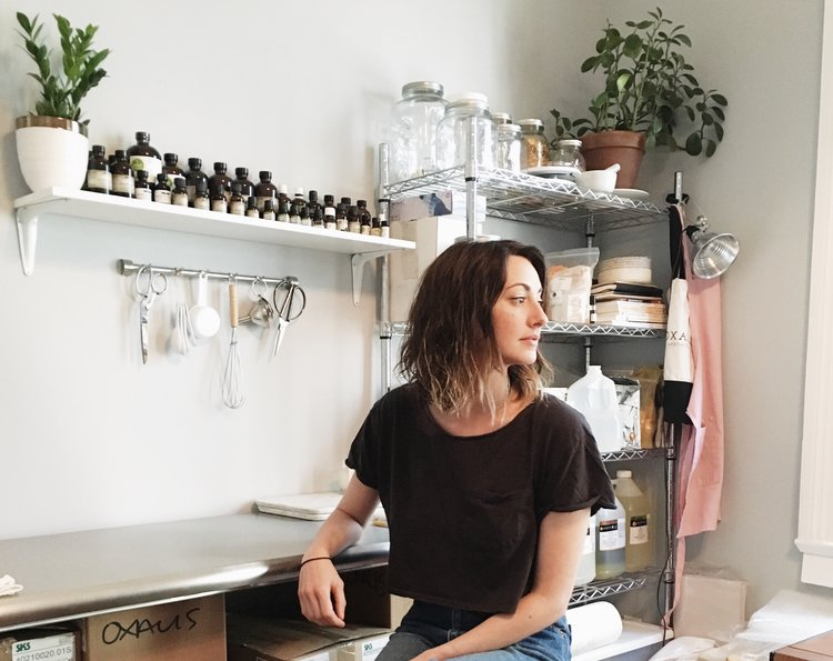 MEET OUR MAKERS: Erin Wexstten, Owner+Founder+Proprietress at Oxalis Apothecary