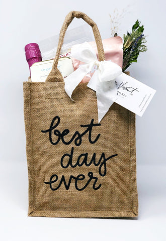 Best Day Ever - Reusable Tote Gift Bag - Bon Vivant Gift Boxes | Austin, Texas