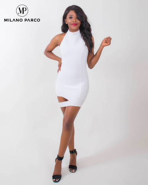 Ms Sexy Party Dress | White