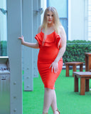 Phoebe Dress | Red