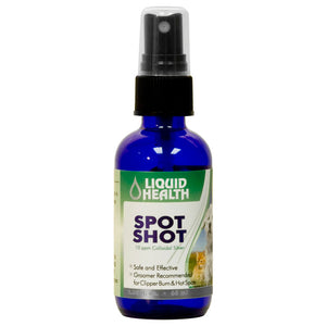 Spot Shot w/Colloidal Silver For Dogs And Cats 2oz.