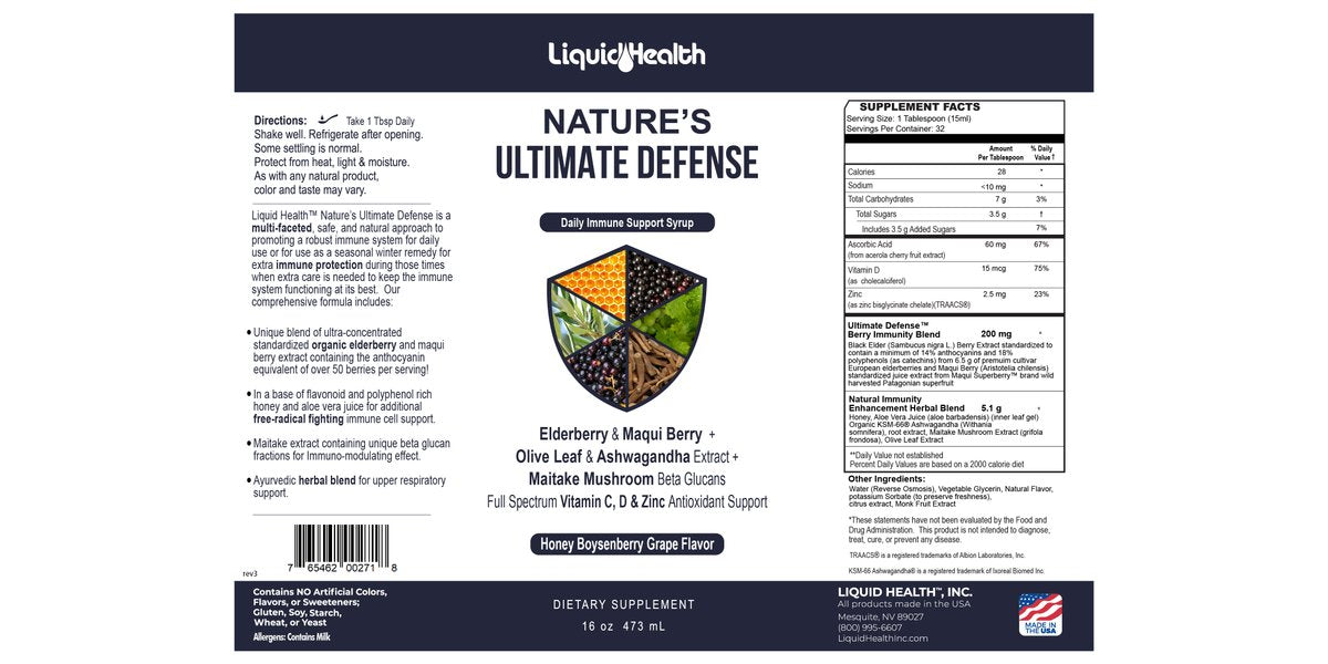 Nature's Ultimate Defense 16 oz