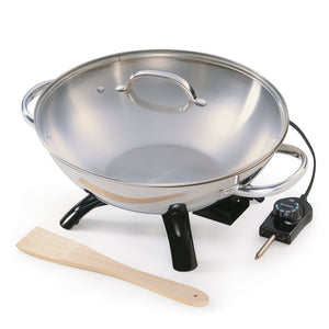 Stainless Steel Electric Wok