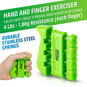 Premium Hand Strengthener Kit - 4 Pack